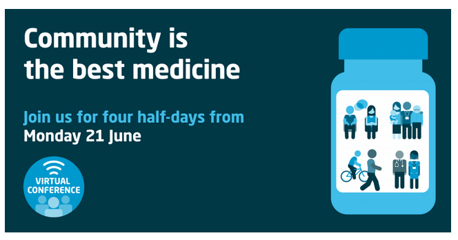 Community is the best medicine – virtual conference