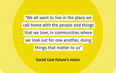 'Whose Social Care is it Anyway?' Inquiry group first findings