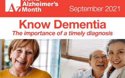 Alzheimer's Disease International invites you to get involved virtually this World Alzheimer's Month